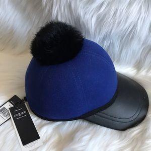 BCBG Maxazria Royal Blue baseball hat